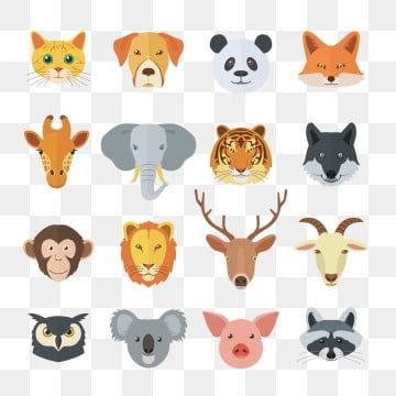 Animals Png Images Vector And Psd Files Free Download On Pngtree Puppy Cartoon Animal Faces Cute Animals