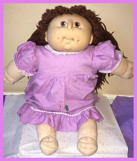 The Original Doll Baby Cabbage Patch 1984 Vintage By Martha Nelson Thomas 19 Vintage Cabbage Patch Dolls Cabbage Patch Babies Cabbage Patch Kids