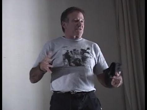 Robin Williams, John Elway, Leeann Tweeden, and Blake Clark - USO Show A...