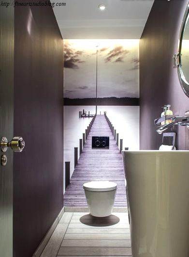 29 Unbelievable Modern Half Bathroom Ideas Ideas Klein Toilet Toilet Zolder Badkamer