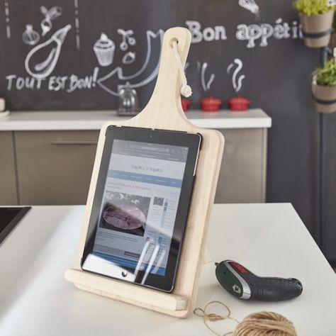 Tuto Creer Un Support Pour Tablette Pour La Cuisine Support