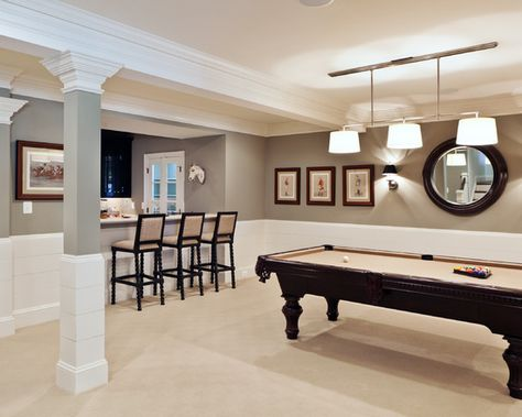 Yes, please! 1,300 basement ideas