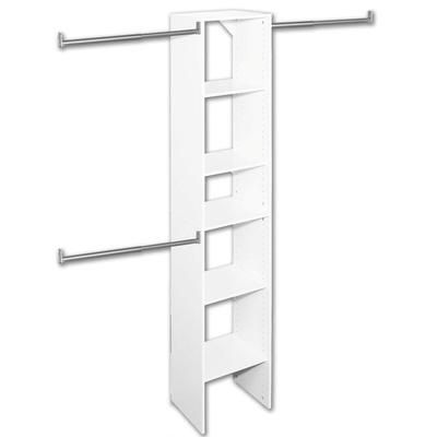 Closetmaid T3 Selectives 16 Inch Starter Tower Kit 703200 Home