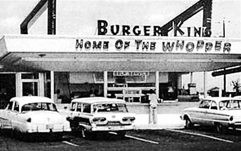 Burger King...Home Of The Whopper. Wow really ol