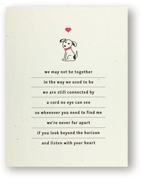 6554 Dog Heart Sympathy