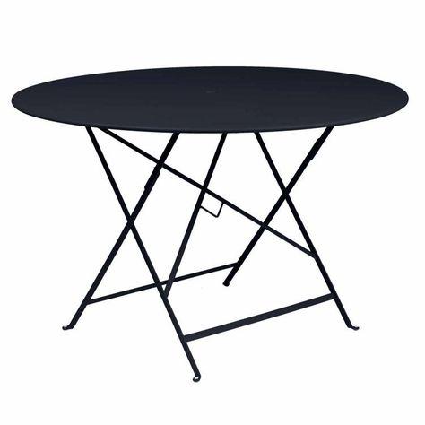 Mange debout table bar ronde pliante 78cm métal et bois ...