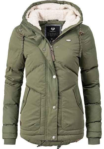 Ragwear Winterjacke Mr Smith Druckknopfleiste Online Kaufen Winterjacken Ragwear Und Winterjacke Damen