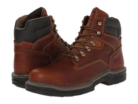 f9d296ca4ff Wolverine Men's W02419 RAIDER Steel-Toe Work Hike Boot – Model Shoe ...