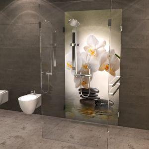 Duschruckwand Florales Duschruckwand Dusche Badezimmer Dekor