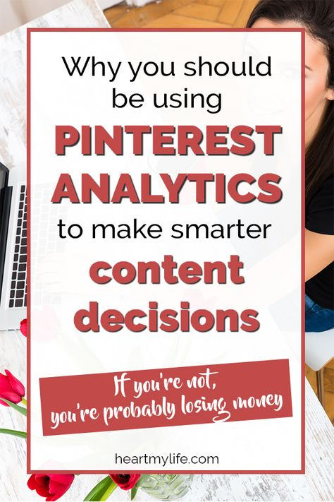 Develop better content and marketing strategies when you delve into the big data available through Pinterest analytics. Get tips about the tools available, take a look inside several analytics dashboards, discover how to make the most of Pinterest's search engine, and learn how to use your analytics to rock your online business. #heartmylife #pinteresttips #bloggingtips #marketingstrategies