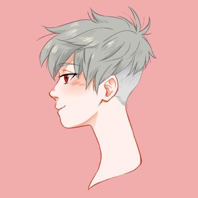 Resultado De Imagem Para Anime Boy With Pink Undercut How To Draw