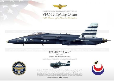 "F / A-18C VFC-12 ""Fighting Omars"" JP-1097"