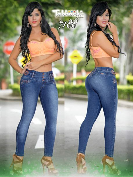 Latina Teen In Jeans