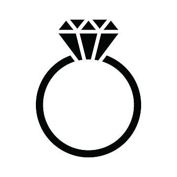 Gambar Ikon Cincin Berlian Clipart Perhiasan Ikon Berlian Ikon Dering Png Dan Vektor Dengan Latar Belakang Transparan Untuk Unduh Gratis Ring Icon Diamond Vector Ring Logo