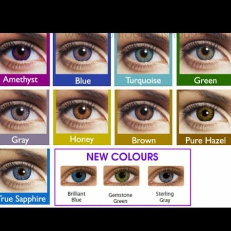 966f81e82c8b0 FreshLook Contact Lenses Brand New FreshLook Contact Lenses Colors  ~Gray~Blue~Amethyst~