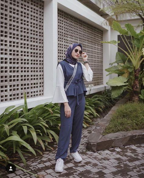ملابس كاجوال للمحجبات , أزياء كاجوال تهبل 2019 55e288dea5eedff22d73