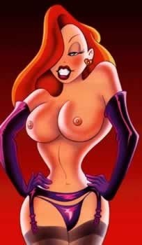Hot Sexy Naked Jessica Rabbit Sex Photo