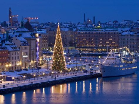 Top 10 Magical Christmas Destinations to Visit in Europe – Stockholm, Sweden
