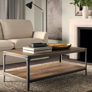 Greyleigh Cainsville Coffee Table With Storage Wayfair Ca