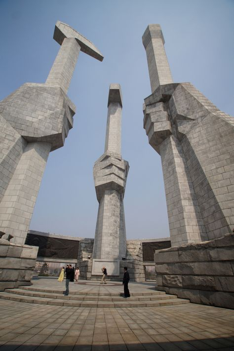 Monument to the Founding of the Korean Workers' Party, Pyongyang,
