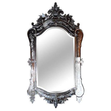 Fab Antique Venetian Mirror 1 Venetian Mirrors Mirror Venetian