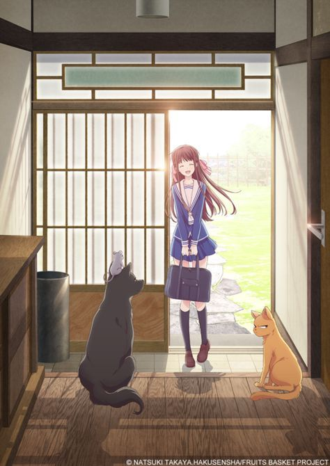 New Fruits Basket Anime to Debut in 2019, Staff and Visuals Revealed