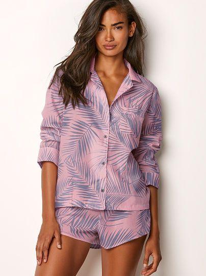 94883444d69 The Lightweight Boxer PJ   Victoria Secret/Pink   Pajamas, Pajama ...