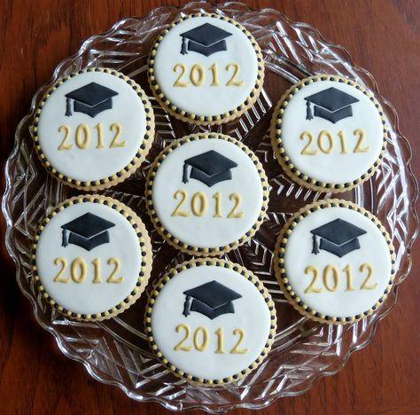 Graduation cookies by Kelley Hart Custom Cookies