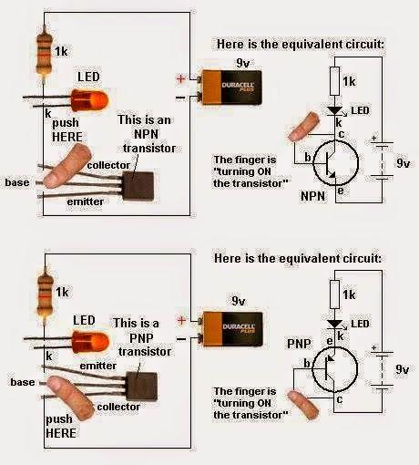 LED Torch light Circuit Understanding Electronics Pinterest