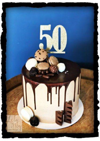 Super Birthday Cake Decorating Ideas For Men Chocolate Ganache