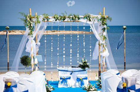 Bruiloft op het strand. Foto: Joaquín Tocornal