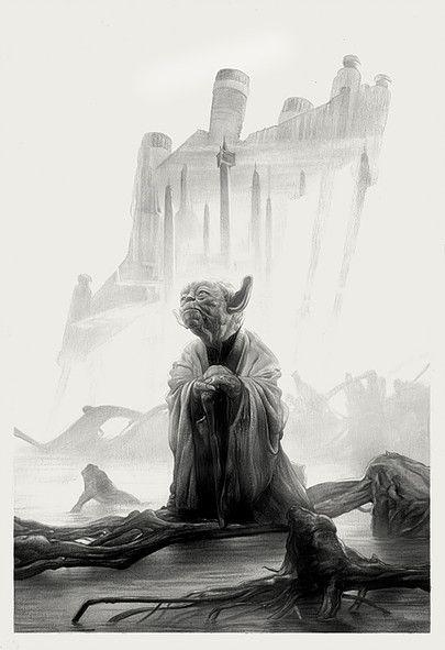 Yoda by Greg Ruth