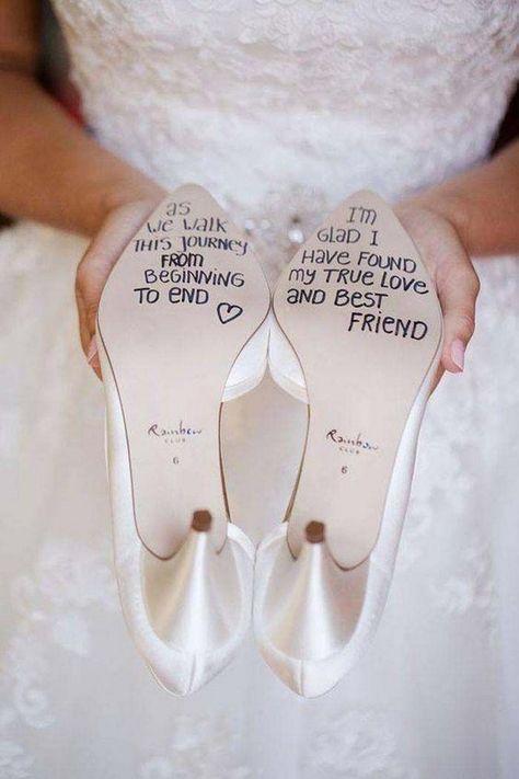 Personalized Wedding Shoe Sticker Decal #wedding #weddings #weddingideas #diyweddings #dpf