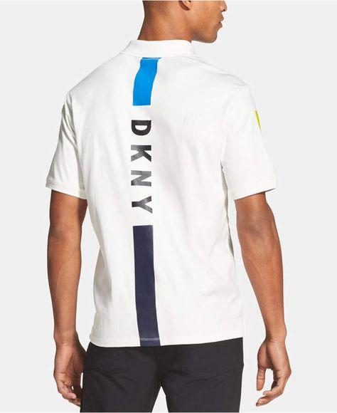 98147daa DKNY Men's Colorblocked Supima Cotton Pocket T-Shirt & Reviews - T ...