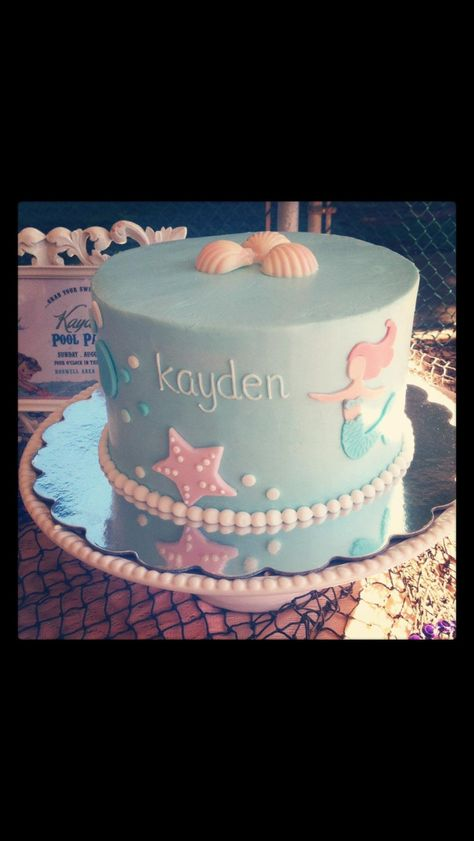 Mermaid Cake Simple And Elegant Mermaid Birthday Cakes Mermaid