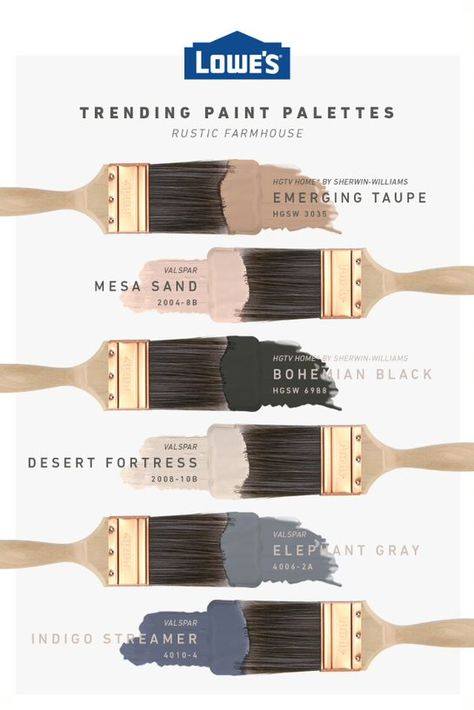 First Home Decoration This exclusive color palette will give any space an authentic rustic farmhouse feel.First Home Decoration This exclusive color palette will give any space an authentic rustic farmhouse feel.