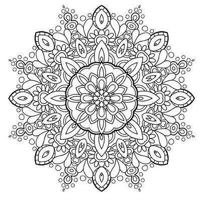 Coloring Pattern Design Concept