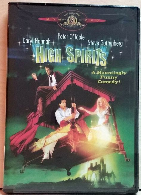 High Spirits ( DVD, 2002 ) FACTORY SEALED / NTSC / Region1  #MGMVideoDVD