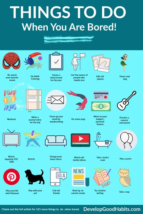 217 Fun Things to Do When You Are Bored (Ideas for 2021!)