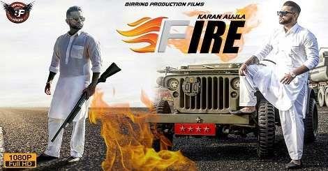 Fire Karan Aujla Mp3 Song Download Free Punjabi 2020 Mp3 Song Mp3 Song Download New Song Download