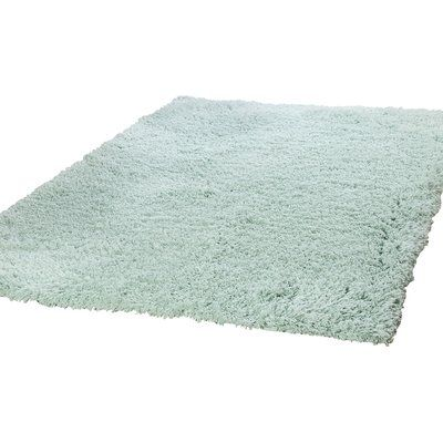 Keep Your Conscience As Comfortable As Your Feet With This Eco Friendly Shag Area Rug Made Of Recycled Material This Handwoven R Area Rugs Rugs Aqua Area Rug