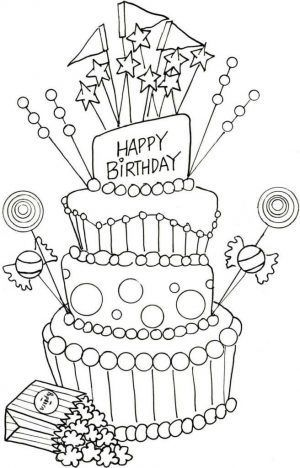 Take A Look At These Happy Birthday Coloring Pages Geburtsta