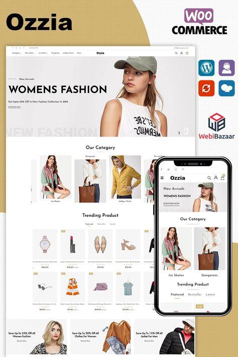 Ozzia - Fashion Premium WooCommerce Theme #96091
