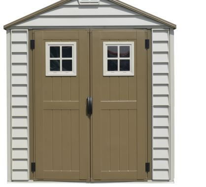 Duramax 7x7 Storemax Vinyl Shed With Foundation Kit Vinyl Sheds Shed Foundation Kit