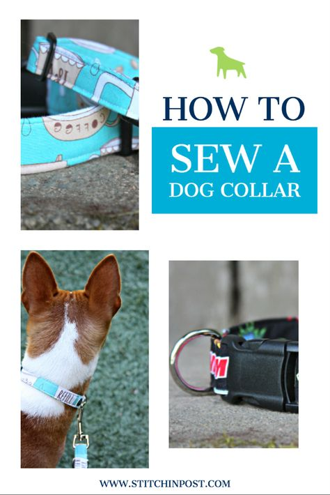 Sew an adjustable dog collar with our pattern and video tutorial. Dog Collar Bandana, Diy Dog Collar, Handmade Dog Collars, Cake Dog, Bandanas, Dog Accesories, Accessories, Dog Crafts, Diy Projects Dog