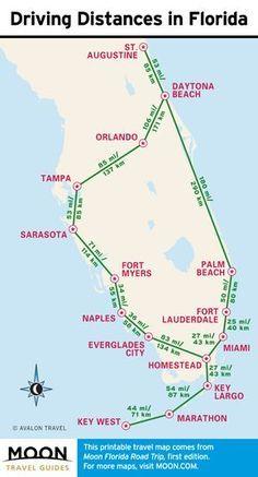 1 Week Florida Road Trip Miami The Atlantic Coast Orlando Favorite Places Spaces Florida Travel Road Trip Florida Camping