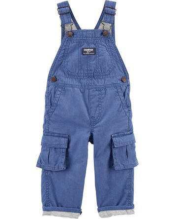 Short Overalls for Infants and Toddlers Dinosaurs on a blue background newborn and 2T