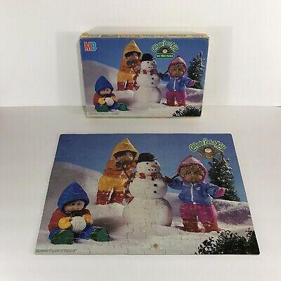 Vintage 1984 Cabbage Patch Kids 100 Piece Puzzle Complete Snowman 16 X 11 In Cabbage Patch Kids Patch Kids 100 Piece Puzzles