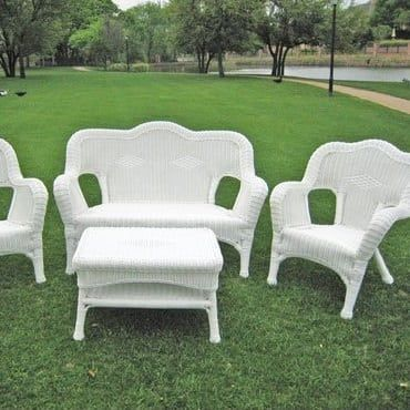 100 Best White Wicker Furniture Sets 2020 With Images White