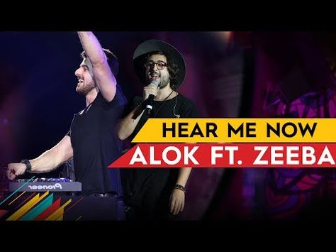 Alok Bruno Martini Feat Zeeba Hear Me Now Lyrics Music